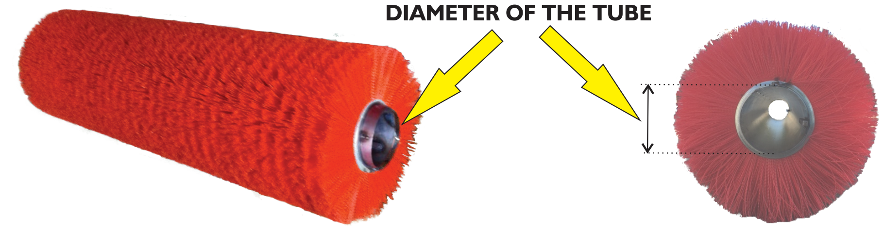 Measure the inside diameter