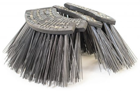 Rosmech Scarab R6 Regen Wire Channel Brooms 4 per set, Australian Made. GB006