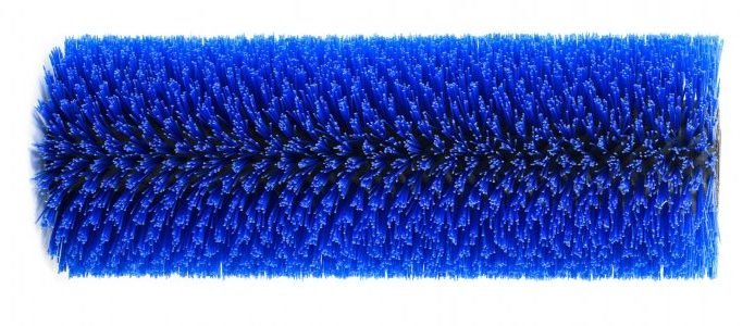 Rosmech Scarab Minor Blue Poly Bristle Wide Sweep Imported Broom, 1035mm Long 310mm O.D. MB041P