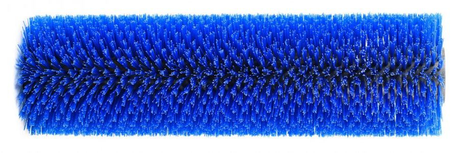 Rosmech Scarab Minor Blue Poly Bristle Wide Sweep Imported Broom, 1035mm Long 310mm O.D. MB042P