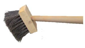 Tar brush- Ideal in sugar mills & factories - All natural fibre - Heat resistant-